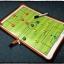 กระดานแม่เหล็ก บอร์ดโค้ช กระดานผู้ฝึกสอนมืออาชีพ เล่มเล็ก thumbnail 1