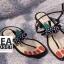 รองเท้าแฟชั่น Summer Collection Shoes Red thumbnail 2
