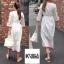 แม็กซี่เดรส Boho Embroidery Maxi Dress thumbnail 3