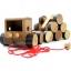 รถเทรลเลอร์สายหรรษา ของเล่นเด็ก ของเล่นไม้ ของเล่นเสริมสร้างสมาธิ thumbnail 1