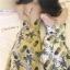 ชุดเดรส Pineapple X Cross Midi Dress สีเหลือง thumbnail 2