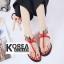 รองเท้าแฟชั่น Summer Collection Shoes Red thumbnail 1