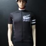 เสื้อปั่นจักรยานสีดำ รุ่น 3 (A1)