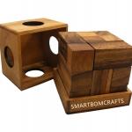 SOMA CUBE ของเล่นเสริมสร้างสติปัญญา เกมส์ฝึกสมอง ของเล่นไม้