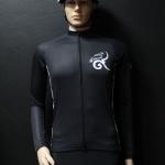เสื้อปั่นจักรยานสีดำ รุ่น 2 (A1)
