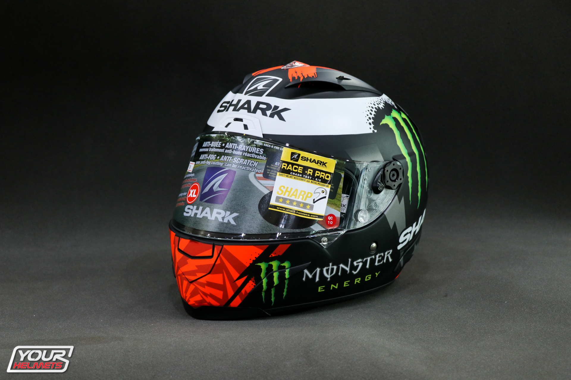 SHARK RACE-R PRO REPLICA LORENZO MONSTER MAT 2017 - KRW