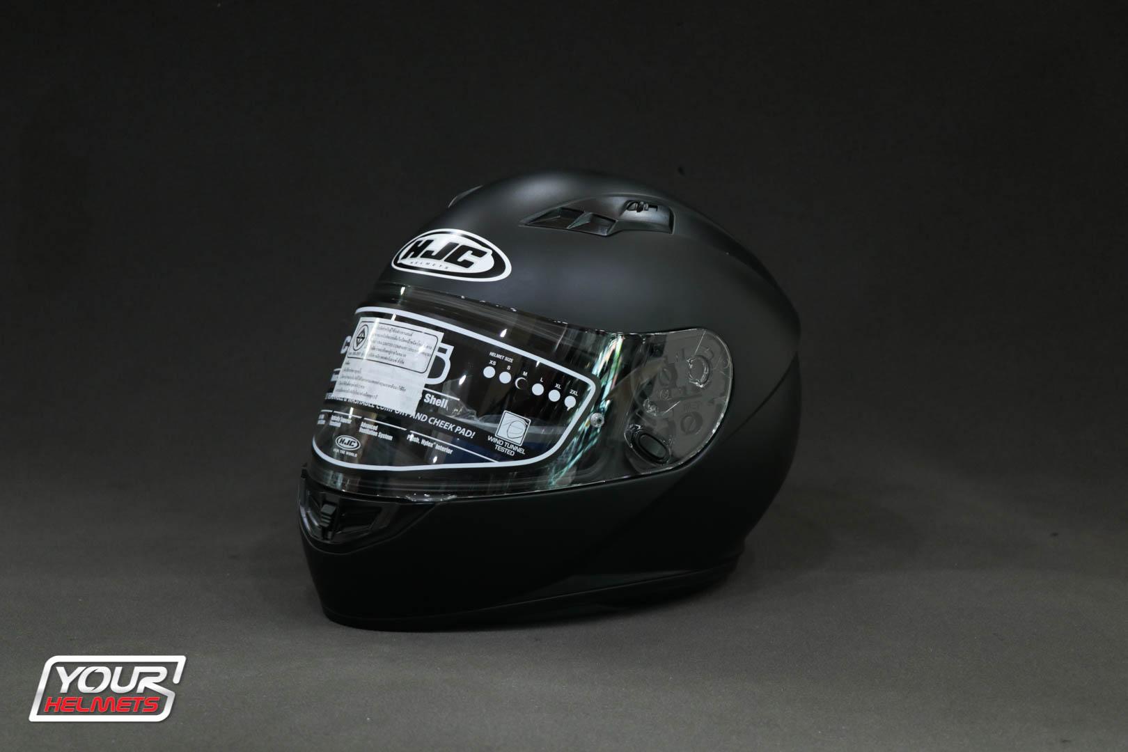 HJC CS-15 SEMI FLAT BLACK