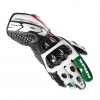 SPIDI CARBO TRACK LEATHER - WHITE/GREEN/RED