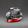 BELL QUALIFIER DLX LALE OF MAN BLACK/RED