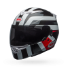 BELL RS2 EMPIRE WHITE BLACK RED