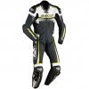 IXON MIRAGE LETHER SUIT - BLACK/WHITE/GREEN