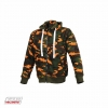 BOOSTER HOODIE MAN CAMO ORANGE