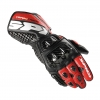 SPIDI CARBO TRACK LEATHER - BLACK/RED