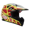 BELL MOTO-9 FLEX STRAPPED YELLOW RED