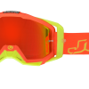 GOGGLES JUST1 IRIS NEON - RED/YELLOW