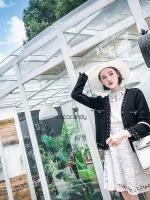 เสื้อคลุมไหมพรม Korea Luxe Pearl Cardigan