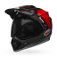 BELL MX-9 ADVENTURE MIPS BERM BLACK WHITE RED thumbnail 6